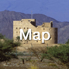 fort oman mountains elitetraveltourism text